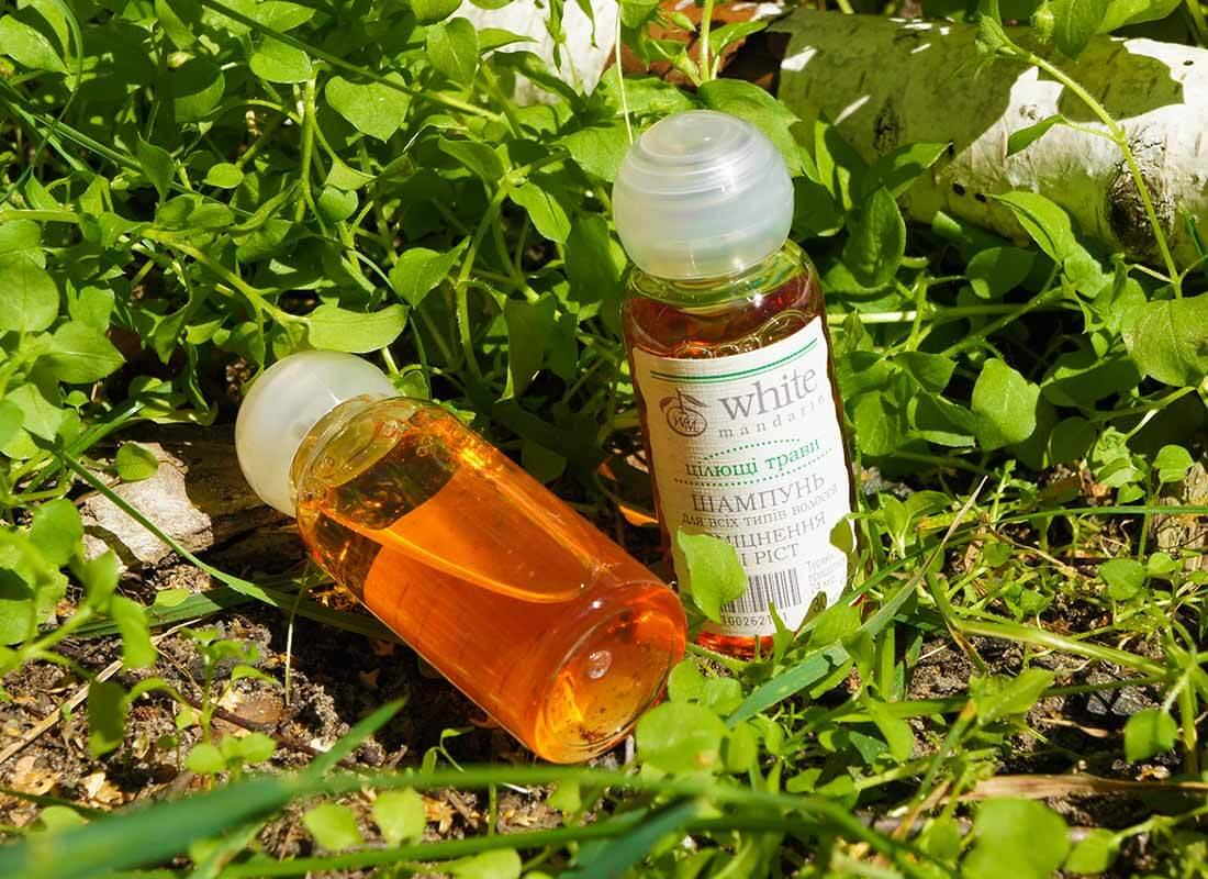 пробник шампуня целебные травы