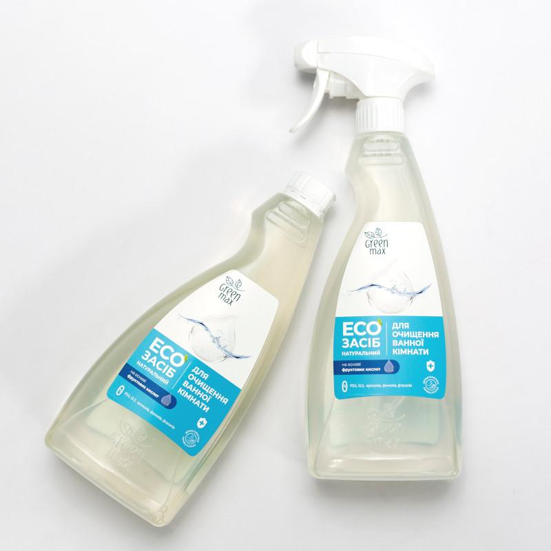 green max средство для чистки ванной комнаты
