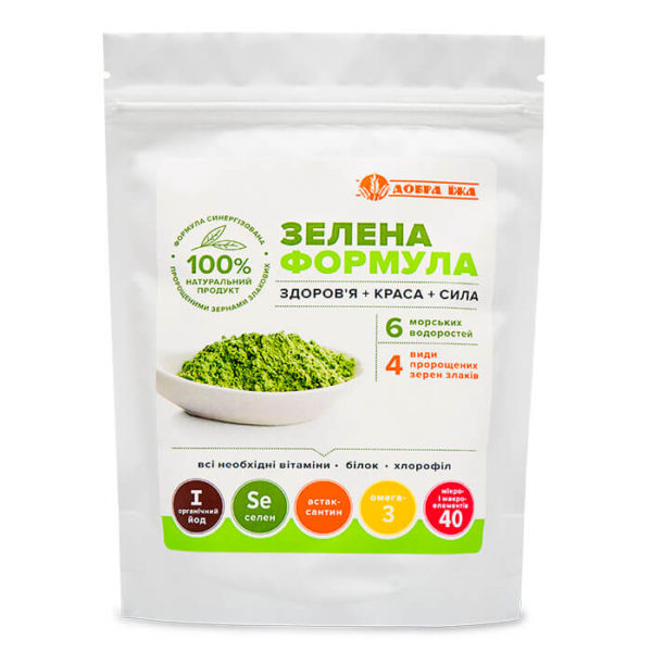 зелена формула добра їжа