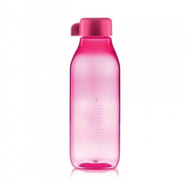 Эко бутылка Tupperware Малиновая прозрачная