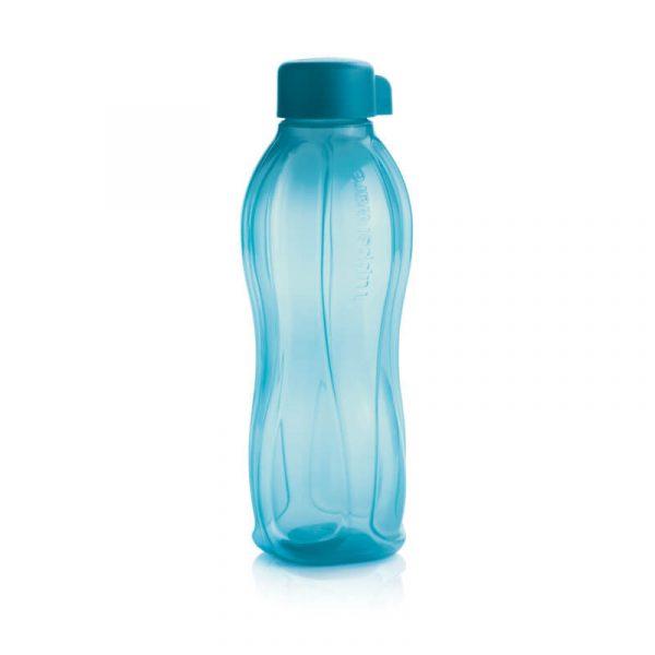Эко бутылка (750 мл) Tupperware Синяя с винтовой кришкой