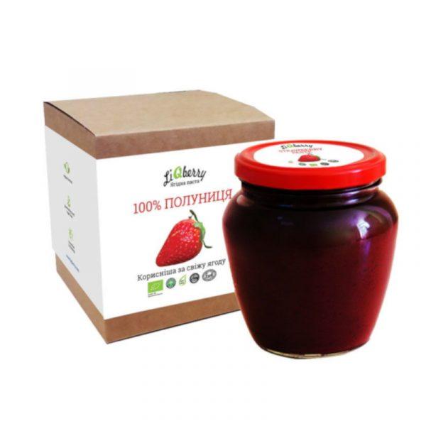 Органічна паста з полуниці